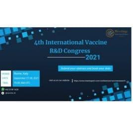 4th International Vaccine R&D Congress