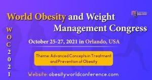 World Obesity and Weight Management Congress – WOC 2021