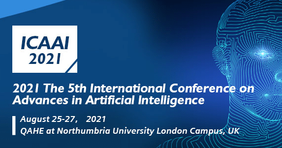 The 5th International Conference on Advances in Artificial Intelligence (ICAAI 2021)