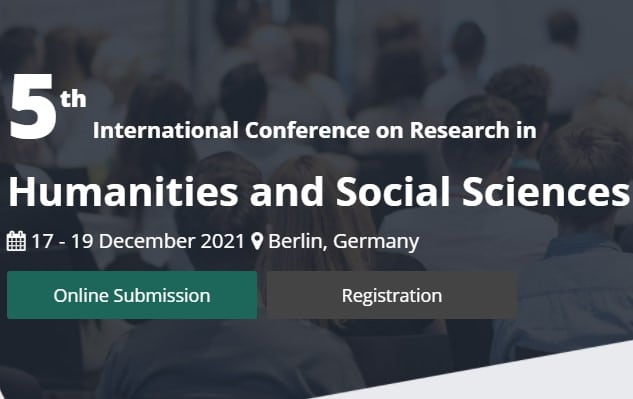 5th International Conference on Research in Humanities and Social Sciences (ICRHS)