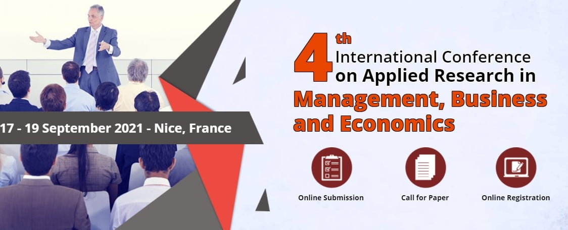 4th International Conference on Applied Research in Management, Business and Economics (ICARBME)