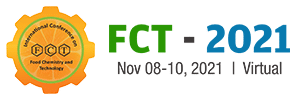 7th International Conference on Food Chemistry & Technology (FCT-2021) Virtual