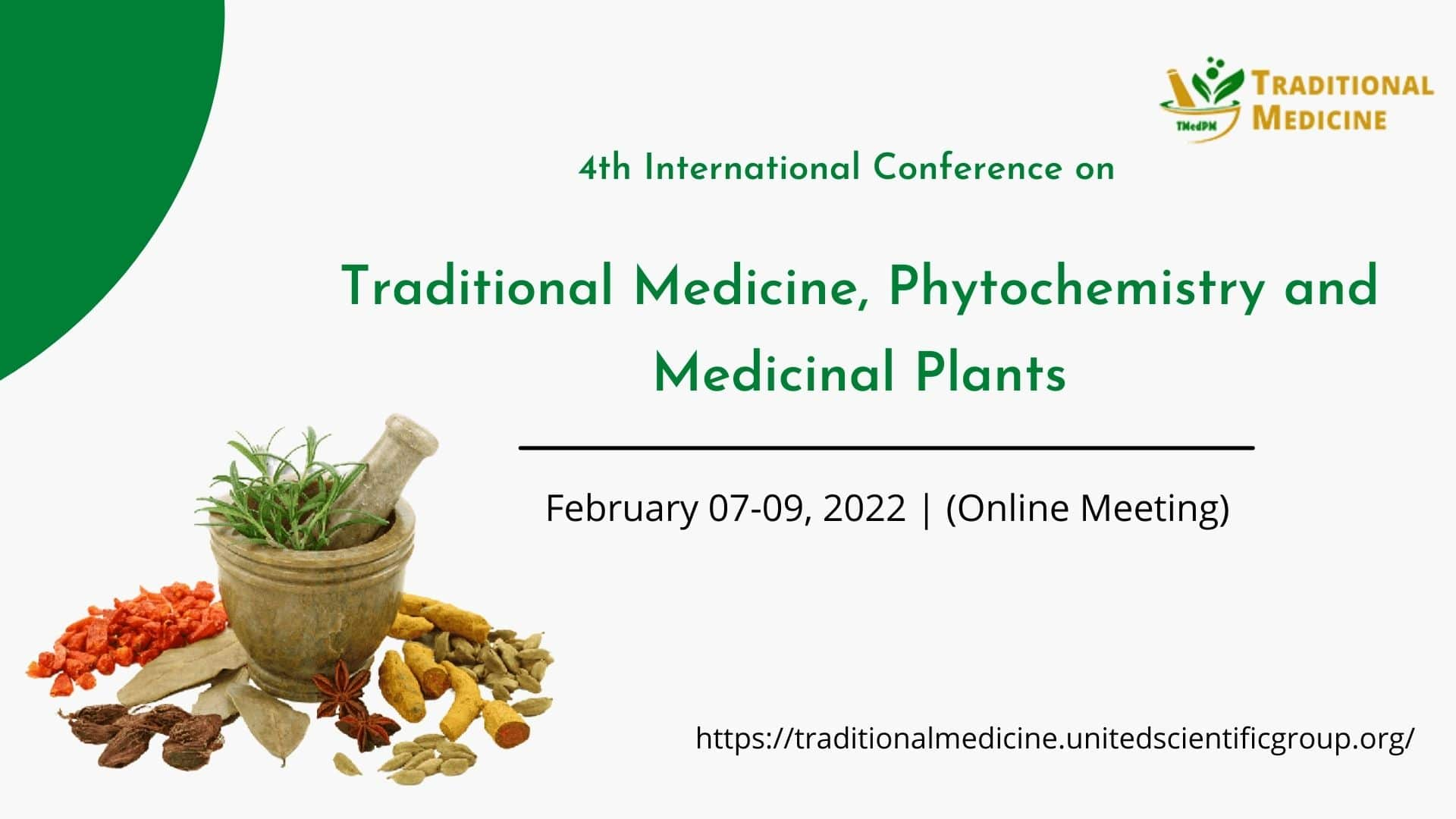 4th International Conference on Traditional Medicine, Phytochemistry and Medicinal Plants