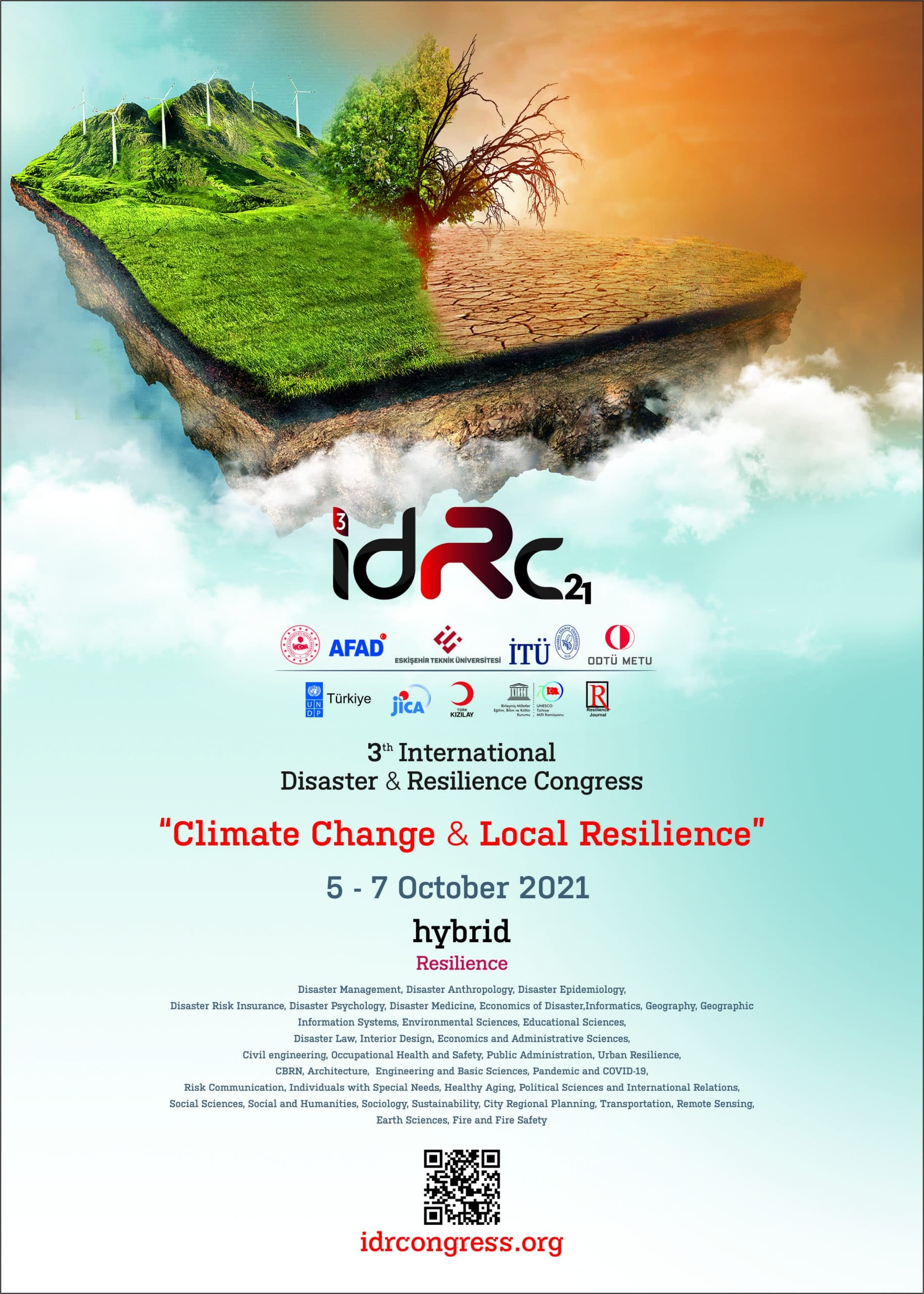 """3th International Disaster and Resilience Congress """"Climate Change & Local Resilience"""""""