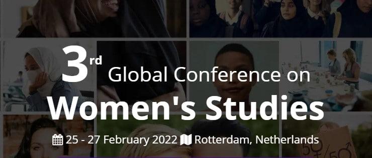 3rd Global Conference on Women's Studies (GCWS)