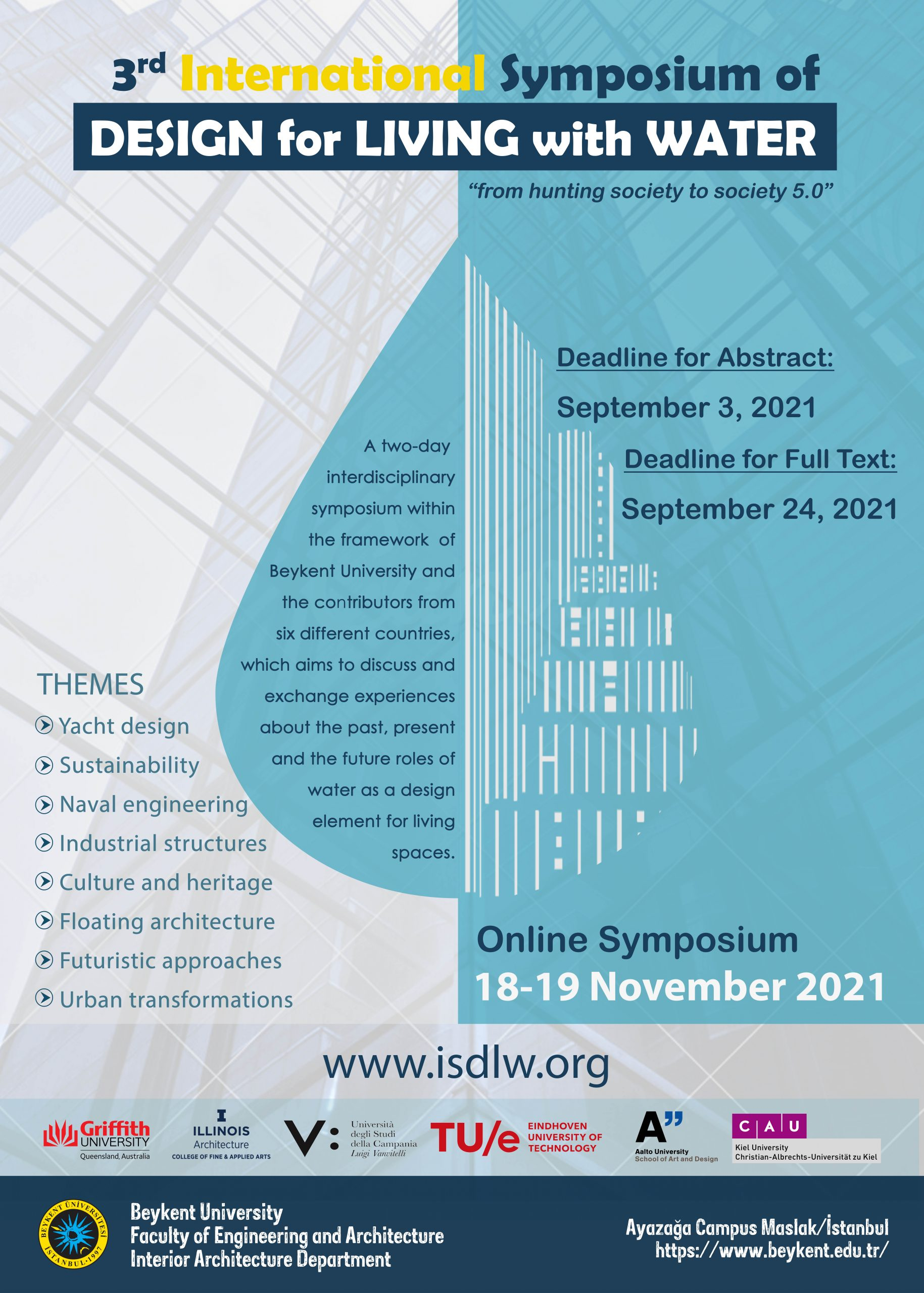 3rd International Symposium of Design for Living with Water – ISDLW-III